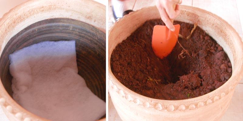 Preparando o Vaso